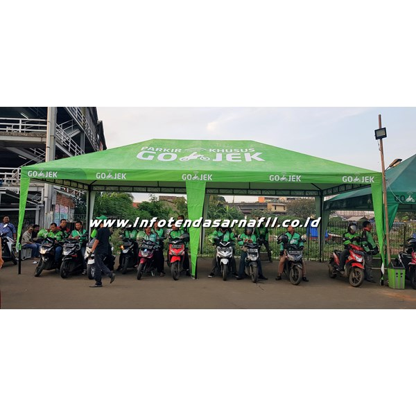 Tenda Shelter GOJEK 5mx10m