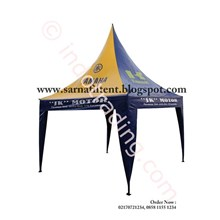 Tenda Promosi 3Mx3m Model Kerucut