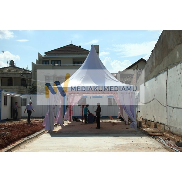 Tenda Sarnafil 5Mx5m Kantor Pemasaran