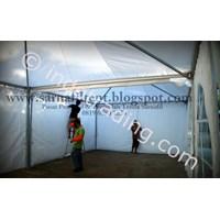 Inside Sarnafil Tent