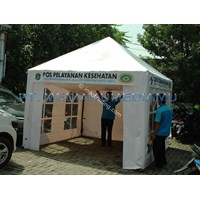 Tenda Pyramid 3mx3m 1