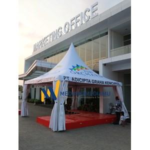 Tenda Sarnafil 5m Orchard Apartment (Kantor Pemasaran By PT. Mediakumediamu