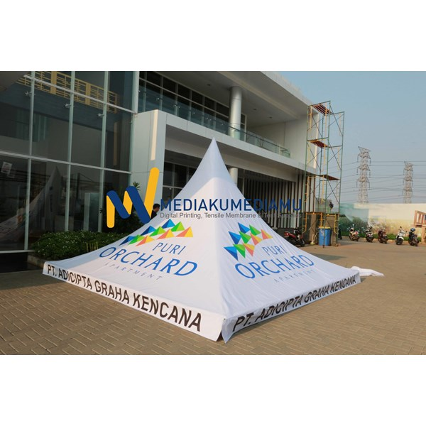 Foto Dari Tenda Sarnafil 5m Orchard Apartment (Kantor Pemasaran 1