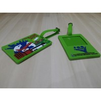 Distributor Custom design rubber Bagtag 3