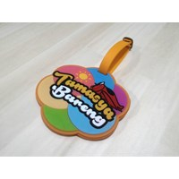 Sell Custom design rubber Bagtag 2