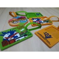Custom design rubber Bagtag Cheap 5