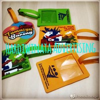 Jual Bagtag rubber custom design