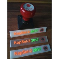 Jual Label Karet murah custom design(Kapsel - 2 2017 IDI) 2