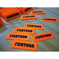 Jual Label Karet Untuk Pakaian Seragam (fortuna safety first) 2