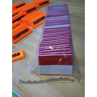 Distributor Label Karet Untuk Pakaian Seragam (fortuna safety first) 3