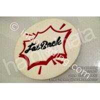 Jual Souvenir Promosi Tatakan Gelas Karet Murah (Fat Back)
