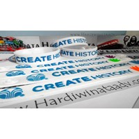 Jual Gelang Karet Murah Custom Design 2