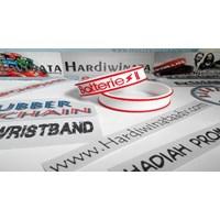 Distributor Gelang Karet Murah Custom Design 3