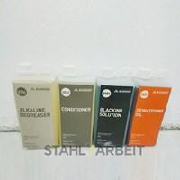 Paket Cairan Tahan Karat atau Cairan penghitam besi atau Black Iron Oxide BLACKFAST