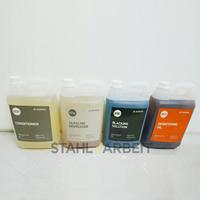 Paket Cairan Tahan Karat atau Cairan penghitam besi atau Black Iron Oxide Uk 5 liter BLACKFAST