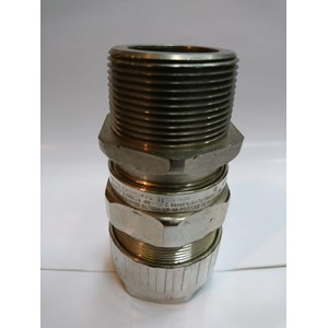 Cable gland hawke brass nickel plated 501-453 RAC 1 1/2 NPT (C2 D)