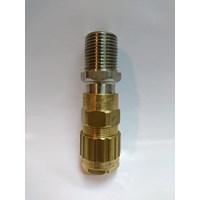 Cable gland hawke brass nickel plated 501-453 RAC 1/2 inch (Os O)