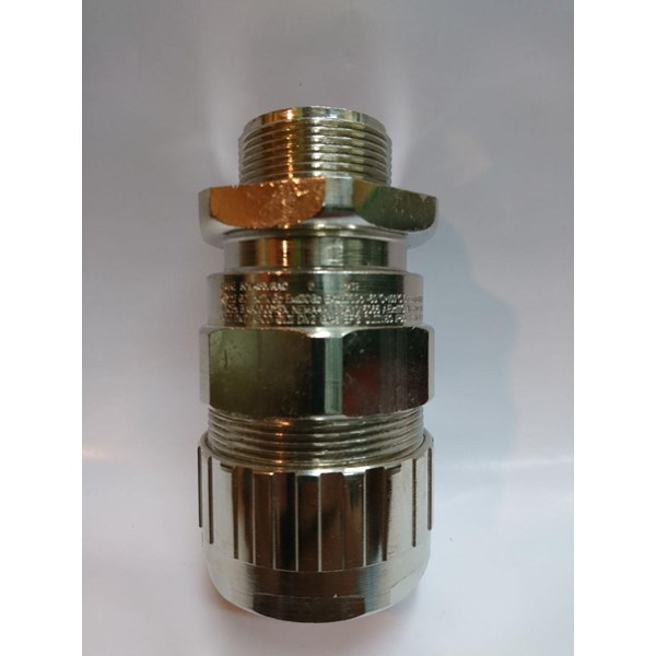 Cable Gland Hawke Brass Nickel Plated 501-453 RAC C M32