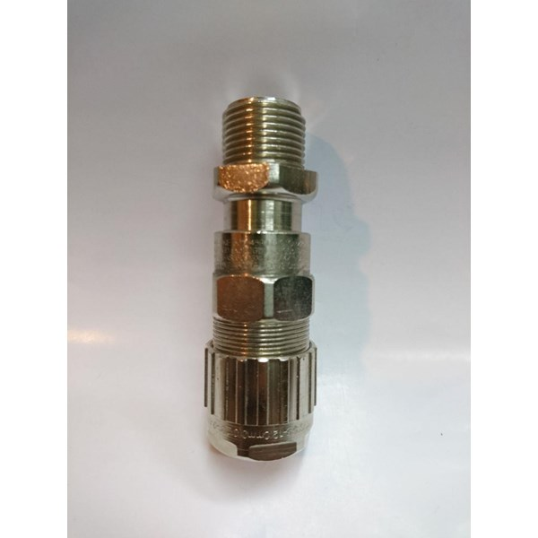 Cable Gland Hawke Brass Nickel Plated 501-453 RAC M20 (Os O A)
