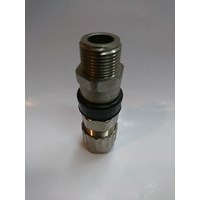 Cable Gland Hawke Brass Nickel Plated 501-453 RAC UNIVERSAL