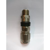 Cable Gland Hawke Brass Nickel Plated 501-453 RAC Universal OS NPT