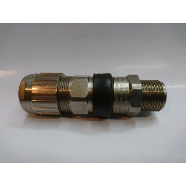 Cable Gland Hawke Brass Nickel Plated 501-453 RAC UNIVERSAL M50