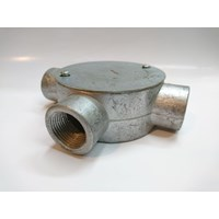 Circular Surface Boxes Pipa Metal Conduit Threaded 1