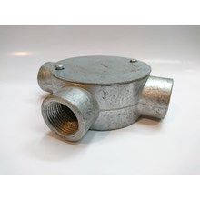 Circular Surface Boxes Pipa Metal Conduit Threaded