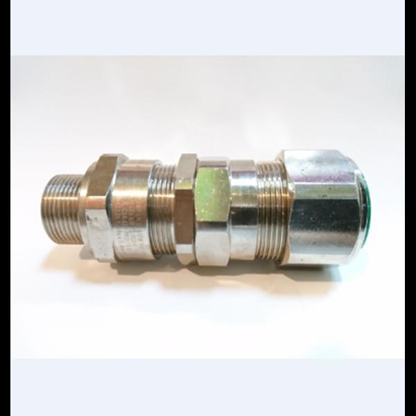 Cable Gland CMP Brass Nickel E1FW M25