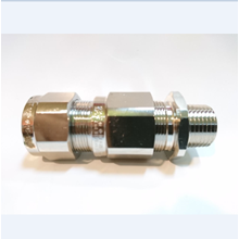 Cable Gland OSCG Brass Nickel NPT 1/2