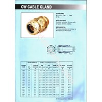 Jual Cable Gland Unibell Cw Armoured