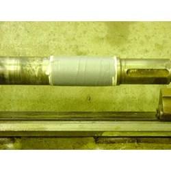 Las dingin pada shaft dengan Polymer Epoxy