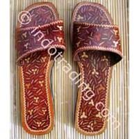 Sell Sandal Batik Kulit 003