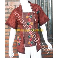 Blouse Batik E-0470.4  Size 3L
