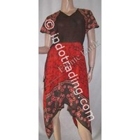 Sell Dress Batik E-04212.1 Free Size