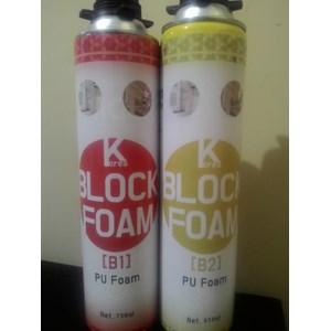 Lem Bangunan Korea Block Foam