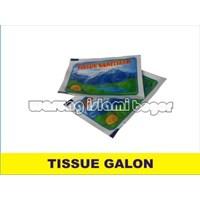 Tissue Pembersih Galon Air Minum Isi Ulang Depot Aqua 1