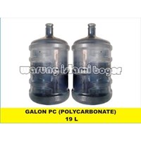 Galon Plastik Kosong PC Polycarbonate 19 Liter 1