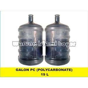 Galon Plastik Kosong PC Polycarbonate 19 Liter
