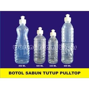 Botol Sabun Cair Cuci Tangan Sunlight Tutup Fulltop Shampo Bahan Plastik PET
