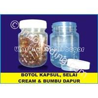 Botol Plastik Toples Untuk Selai Dan Bumbu Dapur 200Ml 1