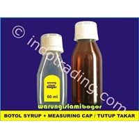 Jual Botol Plastik Pet Model Sirup Obat Batuk Woods 60 Ml Bening 2