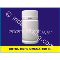 Botol Plastik Pro Round Hdpe 100Ml Segel Untuk Kemasan 70 Kapsul