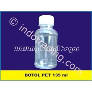 Botol Plastik Pet Agro Labor 135 Ml Bening Untuk Kemasan Kapsul Isi 100 Dan Cair