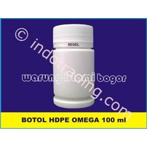 Baru...!!  Botol Plastik Pro Round Hdpe 100Ml Segel Untuk Kemasan 70 Kapsul