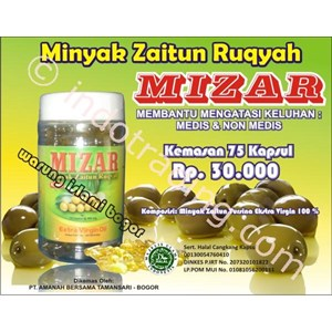 Olive Oil Contents Of 75 Capsules Ruqyah Mizar Economical And Save