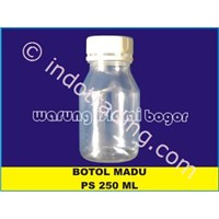 Botol Madu Ps 250 Ml Baru Dengan Segel Dan Tanpa Tutup Dalam 1