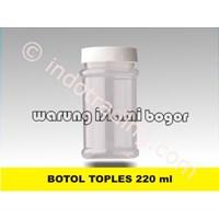 Toples Jar Plastik Tinggi Ukuran Mini 220Ml Untuk Kemasan Selay Manisan Gula Obat Herbal