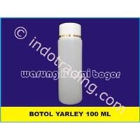 Botol Kosmetik Kecantikan Hdpe Yarley 100Ml Untuk Lotion Dan Lulur