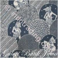 Sell Kain Batik Jawa Indigo Motif 001